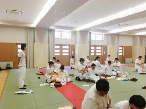 あん摩授業(全体)
